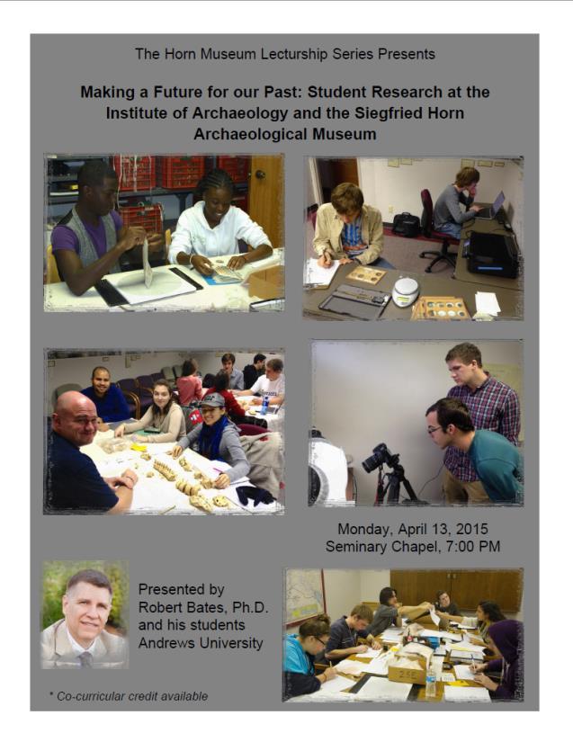 Bob's Lecture Postcard