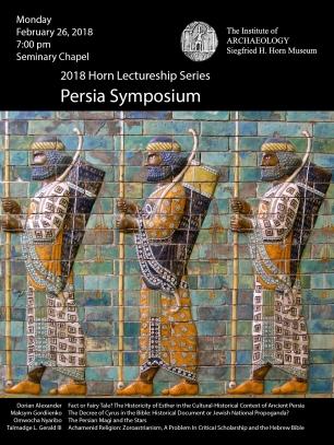 Persia Sympsoium Postcard